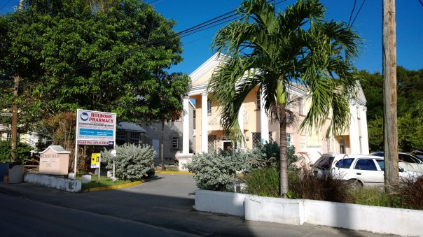 A medical complex in Belleville, St. Michael. Photo by Bajan Mom